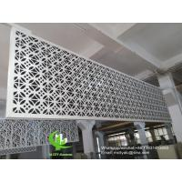 Metal aluminum facade cladding wall for facade curtain wall  with 3mm thickness aluminum panel Manufactures