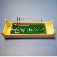 Ultra White Customized 4 Digit 7 Segment LED Display Common Anode For Digital Oven Timer Manufactures
