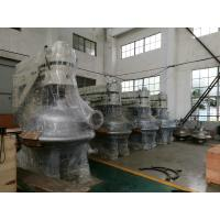 Compact Structure Centrifugal Filter Separator Outlet Pressure ≦ 0.4Mpa Manufactures