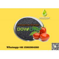 DOWCROP HIGH QUALITY HOT SALE POTASSIUM HUMATE  FLAKES BLACK FLAKES 100% WATER SOLUBLE FLAKES ORGANIC FERTILIZER Manufactures