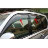 Injection Moulding Car Window Visors For Prado 2010 FJ150 Sun Rain Guard Manufactures