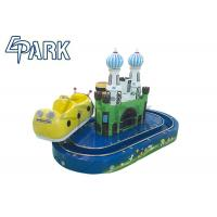 Comfortable And Safe Kiddy Ride Machine / Kids Electric Train Manufactures
