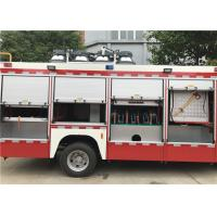 Red Painting Light Fire Truck Generator Model STC-50 510N•M Max Torque Manufactures
