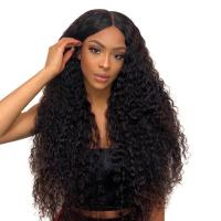 Peruvian Long 100 Percent Lace Front Human Hair Wigs With Baby Hair Manufactures