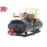 Compact Industrial Steam Boilers , WNS Series Fire Tube Steam Boiler for wood processing industry Manufactures