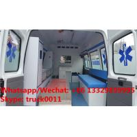 Quality High quality FORD TRANSIT longer gasoline emergency ambulance for sale, HOT SALE for sale
