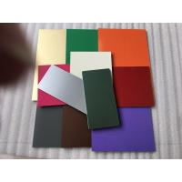 PVDF Paint Aluminum Composite Material Exterior Cladding Materials For Buildings Manufactures