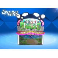 "1 - 2 Player 32"" HD LCD Screen Cow Game Machine For Entertainment Park Manufactures"