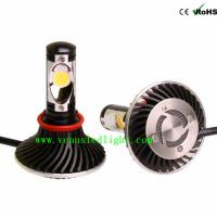 H9 Auto Truck Head Lights Cree Chip LED FOG Headlight 6000K 24W 48W 4400LM 2200LM easy ins Manufactures