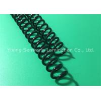 Quality Eco - Friendly Spiral Binding Coils Clear / Black / White Over Traditional Comb Spines for sale