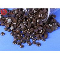 CI Coumarone Indene Resin Good Reinforcing Agent Resin Blend , Burnt Almond Granule Manufactures
