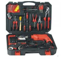 71 pcs household tool set,with handsaw ,screwdrivers ,drills ,water pump pliers . Manufactures