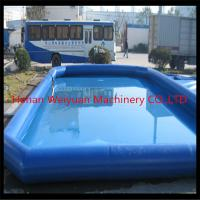 China Certificated kids&adults inflatable swimming pool,large above ground inflatable pool on sale