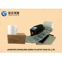 Eco - Friendly Transparent Air Cushion Film Colorful air filled packaging bags Manufactures