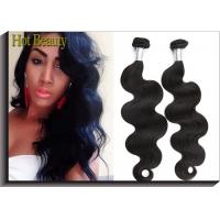 100% Peruvian Hair Peruvian Human Hair Extensions Natural Black Uprocessed Manufactures