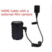 External Mini Wifi Body Camera 2 Inch LCD 5 Mega Pixel Body Worn Surveillance Cameras