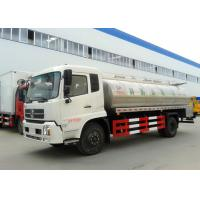 Buy cheap Dongfeng 10CBM Milk Tanker Truck , 10 Tons 4000 Gallons Milk Transportation from wholesalers