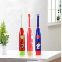 Rotary Lovely Baby Teeth Care Products Battery Powered Food Grade ABS Manufactures