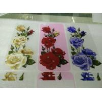 Quality Wholesale Tempered Glass Screen Protector Flim for iPhone 5 iPhone 6 iPhone 6 plus 3D Flowers Printed for sale