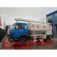 best quality 15m3 hydraulic system farm-oriented animal feed truck for sale, 4*2 15m3 hydraulic feed delivery truck Manufactures