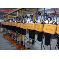 China Professional Remote Control Electric Chain Block Hoist For Lifting Save Power on sale