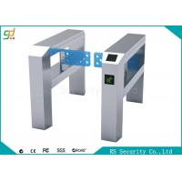 Automatic Dual Supermarkets Swing Gate For Supermarket Bus Station And Airport Manufactures