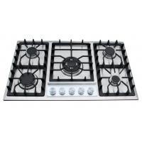 China 5 burners S/S gas stove on sale