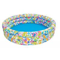 Small Round Children Inflatable Backyard Family Pool with Pattern Printing Manufactures