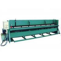 380V 50Hz Sheet Metal Cutting Machine With Cr12 Cutting Blade Material Manufactures
