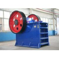 250 R / Min Jaw Crusher Machine Energy Saving Gold Ore Crushing Machine PE600×900 Manufactures