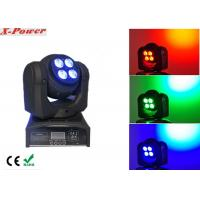 Double Face 4*10W Wash with 1*10W Beam LED Moving Head Light   X-87A Manufactures