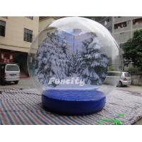 Custom Logo PVC Tarpaulin PVC Dome Inflatable Snow Globe for Christmas Promotion Manufactures