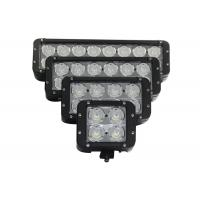Dual Row High Power Vehicle LED Light Bar 8LED Work Light For Marine / Jeep / Offroad Manufactures