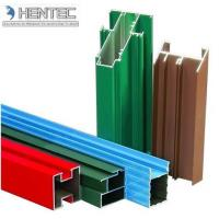 Customerized Aluminum Window Extrusion Profiles Wooden Finished 6005 / 6061 / 6063 Manufactures