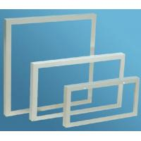 Aluminum Extrusion Frame For Solar Panels , Anodized Extrusion Profiles With Corner Key Joint Manufactures
