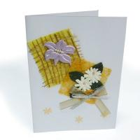 Quality Full Color special paper Laminated Card Printing Service for Greeting Card SGS for sale