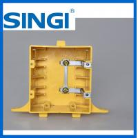 Quality OEM / ODM 2 Plastic outlet box with covers non metallic weatherproof for sale