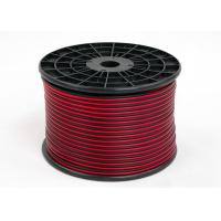 Red and Black PVC Speaker and Microphone Wire Audio Cable 2Core BC CCA 8 Figure Manufactures
