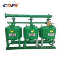 Industrial Automatic Sand Filter 6 - 228 M3 / H Back Washing Flow DMF Models Manufactures