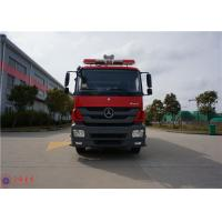 Red Painting Emergency Rescue Vehicle Six Seats Min Turning Diameter <19m Manufactures