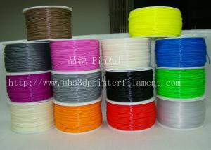 Black / Orange 1.75mm 3d Printer Filament , Ultimaker 3D Printer Consumables ABS filament