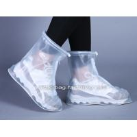 Non Skid Waterproof Shoes Cover , Reusable Rain Snow Boots For Cycling Manufactures