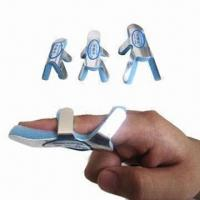 Orthopedic Finger Splint with Sponge Pad Aluminum, Used for Fracture on End/Middle Joint of Finger  Manufactures