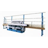 PLC Control Tempered glass double edging machine with high performance Manufactures