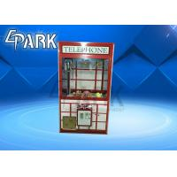 Entertainment Claw Crane Vending Machine Luxury And Atttractive Manufactures