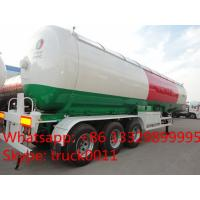 Hot sale 20,000kgs road transported bullet lpg gas tank, high quality and best price 20tons propane gas tank semitrailer Manufactures