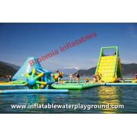 CE Inflatable Aqua Park Inflatable Kids Floating Water Parks Rentals Lake Fun