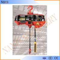 Small Capacity Electric Chain Hoist With Pendent Control Keypad Manufactures