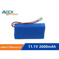 18650 11.1V 2600mAh li-ion battery pack with pcm protection Manufactures
