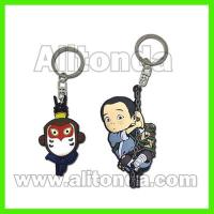Buy cheap Custom pvc cute cartoon animal 3d figure key chains led lighting available from wholesalers